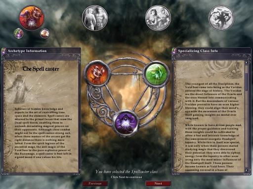 Archetype selection