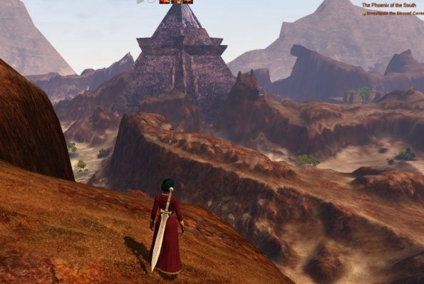 View from entrance to level 30 destiny quest