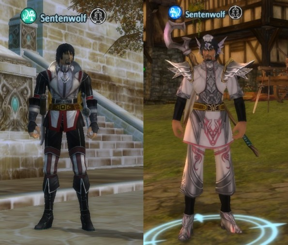 Rogue primary with Silverspring leather and priest primary with Vantis cloth