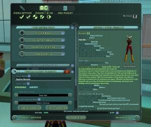 Edit Mission details