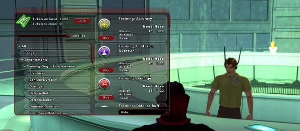 Enhancement levels follows character level