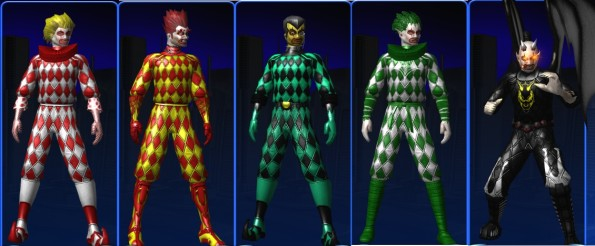 Shovu, Fiero, Darko, Vego and Devilo - educated guesses can be made about their powers