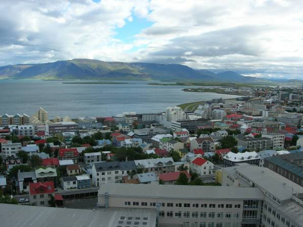 Another filler picture, this time of Reykjavik