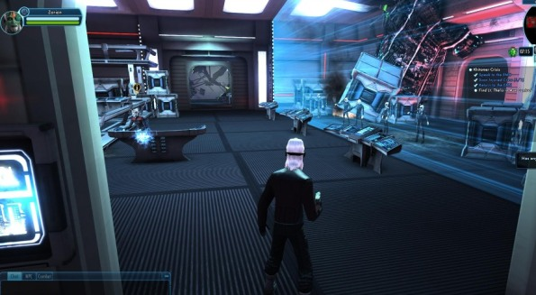 Some variation of Borg are encountered in the tutorial