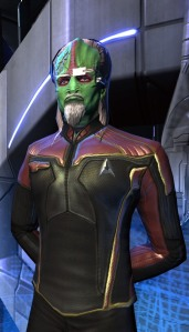 Zorian Zugy, science officer commanding U.S.S. Tactical Grace
