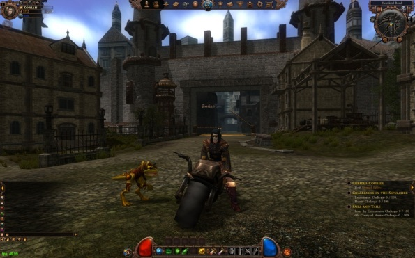 Chilling on the bike, with my pet