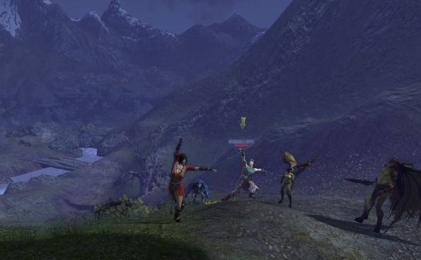 A bit of dancing while waiting for a Lycan boss to spawn...