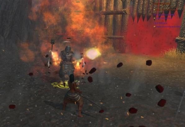 Final boss fight in The Breach