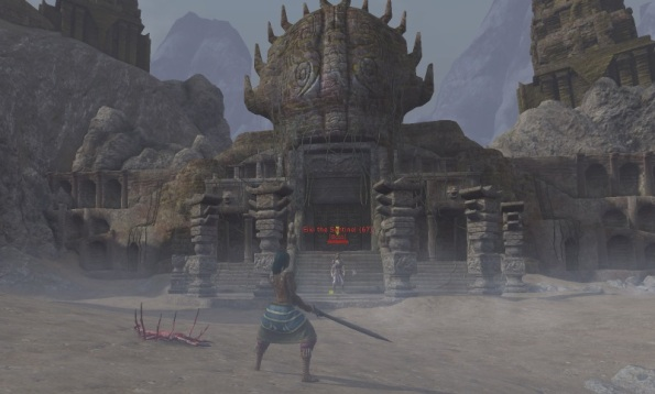 First boss in The Forgotten City