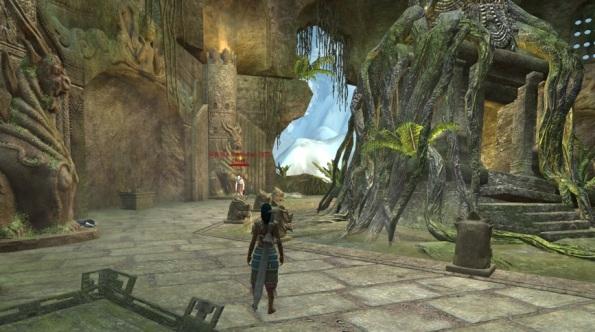 Final boss room in The Forgotten City