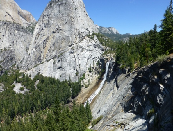 Nevada Falls, in Yosemite Park